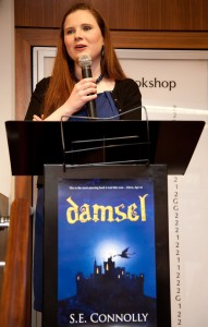 Susan at the Damsel launch party
