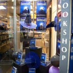Window display at Dubray Books for the Damsel launch party